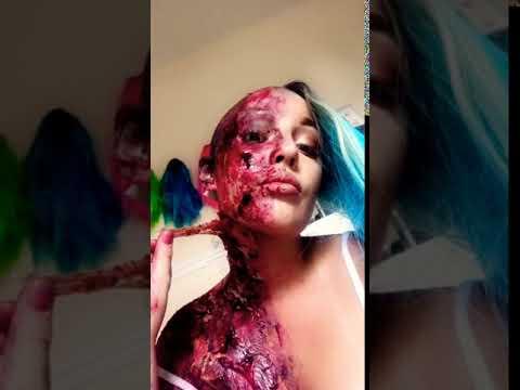 Sfx makeup 💀 OUCH