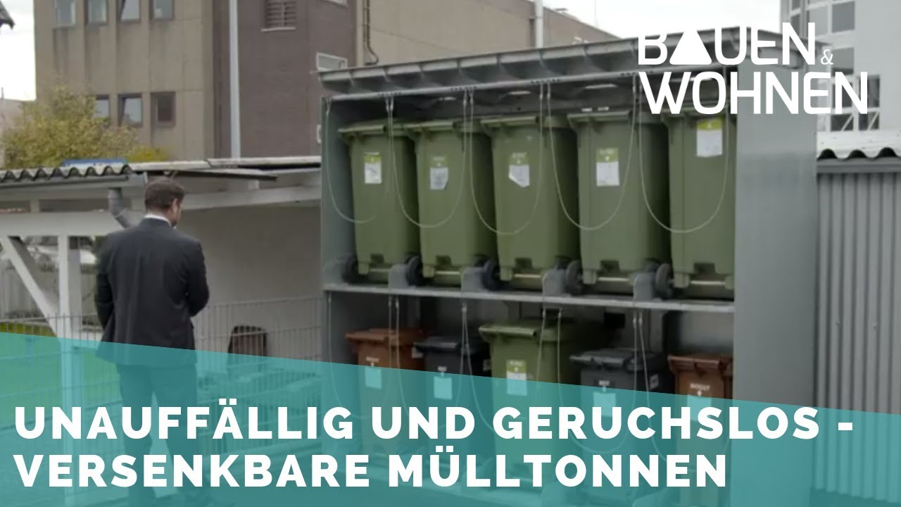 Fabulous Müllboxlift: Versenkbare Mülltonnen - YouTube LM04