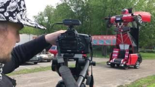 Рен ТВ снимает первый русский трасформер Шоу каскадёров Геннадия Кочерга
