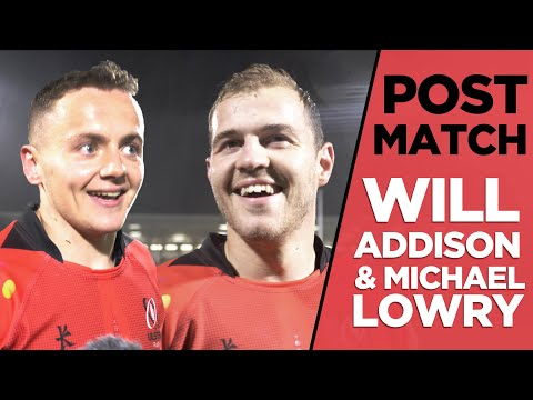 LEICESTER POST MATCH | Will Addison and Michael Lowry