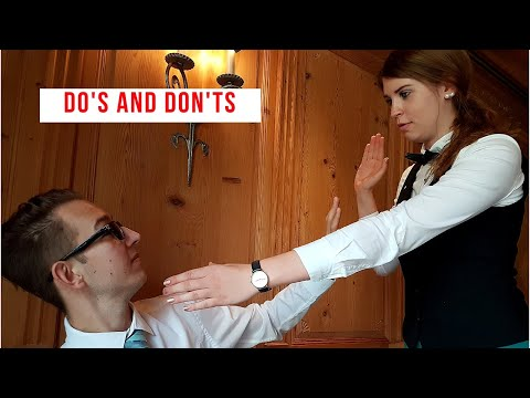 Do's and Don'ts in restaurant service! Waiter training video! How to be a good waiter!