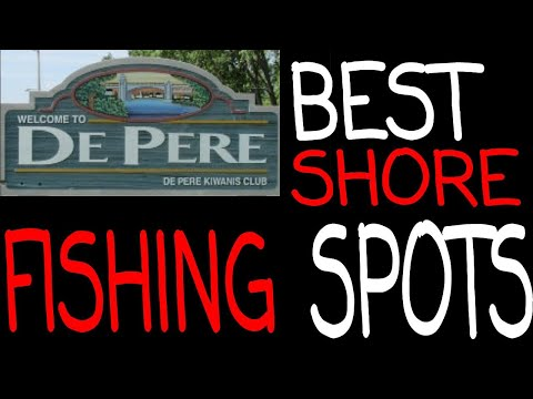 Fox River Public Shore Fishing Spots