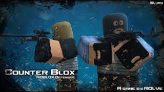I PUE A CONTER BLOX OFFENSIVE! Roblox