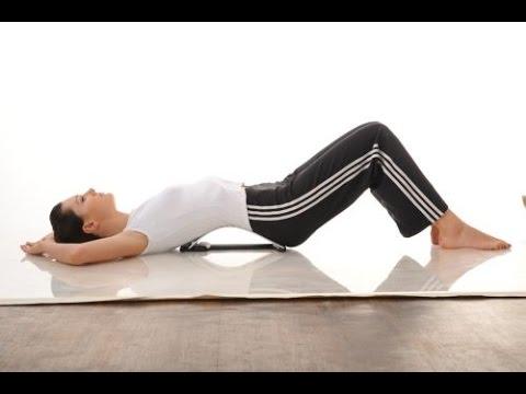 Зарядка для мышц спины -