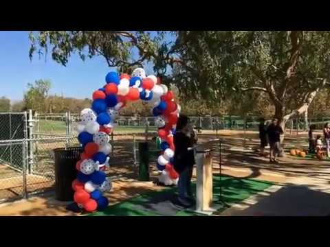 Grand Opening Paw Park Pomona CA