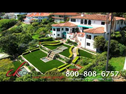 Point Loma Hill Top Estate For Sale, Luxury Homes San Diego