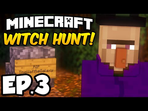 Minecraft: WITCH HUNT Ep.3 - FINDING THE WITCH'S APPRENTICE & WITCH!!! (Minecraft Adventure Map)