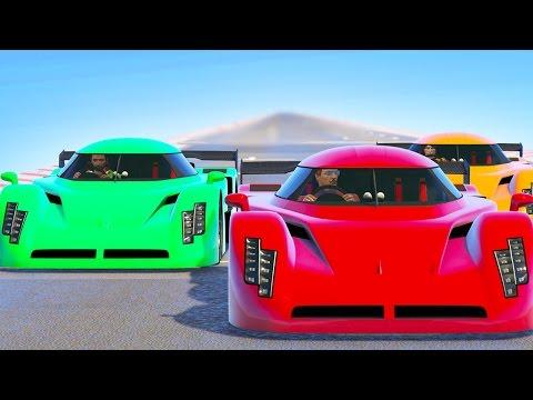 THE ULTIMATE DRAG RACE! (GTA 5 Funny...