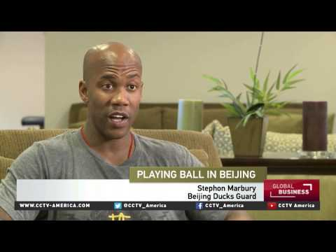 American basketball player's journey to fame in Beijing