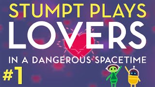 Lovers in a Dangerous Spacetime - #1 - Save the Bunnies (Co-op Gameplay)