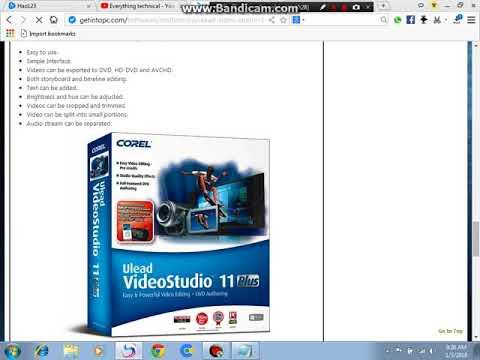 How to download video studio 11