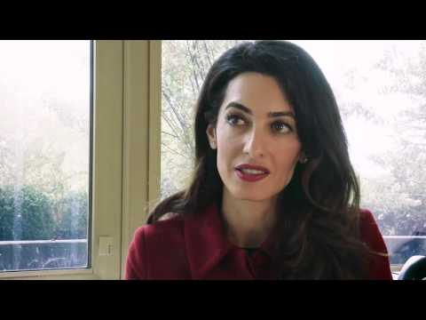 Amal Clooney Tells Amnesty International Why the Former President of the Maldives Must Be Released