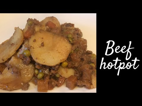 Classic Minced Beef Hotpot Recipe & Cook With Me! :)