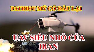 Hệ thống phòng thủ tên lửa Patriot Mỹ đấu tên lửa đạn đạo tầm ngắn và UAV của Iran: Bên nào thắng?