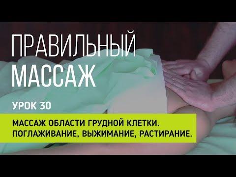 Массаж грудной клетки видео уроки