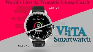 VIITA Smartwatch - The AI Fitness Coach Wearable Heart Rate Monitor💖
