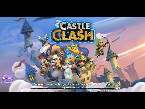 Castle Clash - New Update Review + Reaction (Might Ranks, Daily Rewards, HBM 6 Turns & My Heroes)