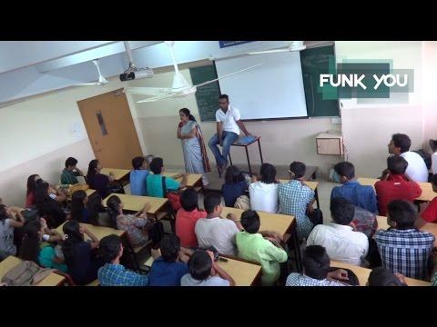 BEST CLASSROOM PRANK EVER!!! Professor Stabbed In Lecture (Prank In India)