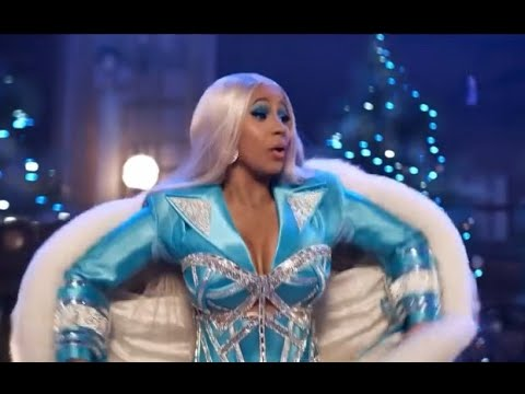 Cardi B Christmas Pepsi Commercial 2019 Here Comes Cardi B Youtube