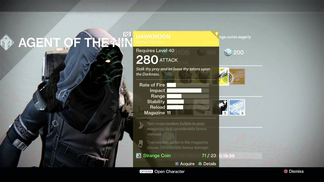 More Destiny Youtube Channel Updates Xur Location 42916 And Inventory For April 29 2016