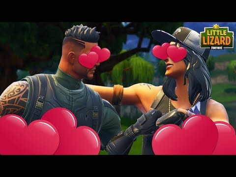 WHEN TWO NOOBS FALL IN LOVE IN FORTNITE! Fortnite Short Film