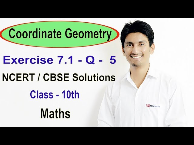 Chapter 7 Exercise 7.1 Q 5 - Coordinate Geometry class 10 maths - NCERT Solutions