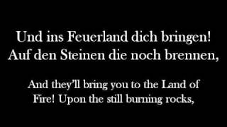 Svbway To Sallys 'Feuerland' (English Lyrics)