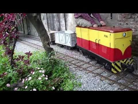 ride on backyard railroad 1 switching youtube