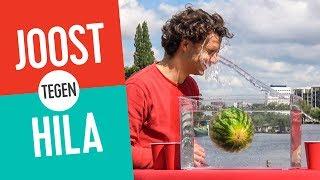 splash blijft een meloen drijven? joost tegen hila