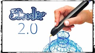 3Doodler 2.0 A Streamlined Plastic Squirting makes fun 3D objects !