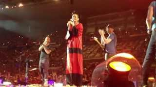 Coldplay & Rihanna - Princess of China (Live @ Stade de France, Paris - 2 septembre 2012)
