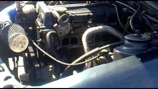 Ford Sierra DOHC sound engine