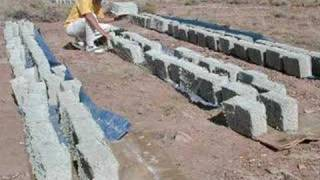 DIY How to Make Papercrete in a Tow-Mixer