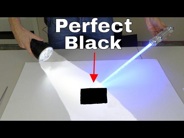 Darker Than Vantablack—Absorbs 99.9923% of Light