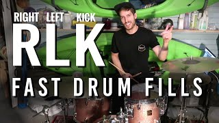 Fast drum fill pattern | DRUM LESSON by Jon Foster