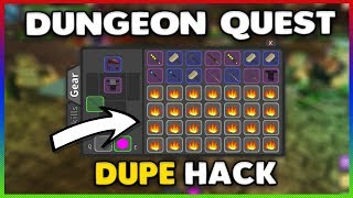 Dungeon Quest Dupe Hack Roblox [WORKING] [16-April-19]