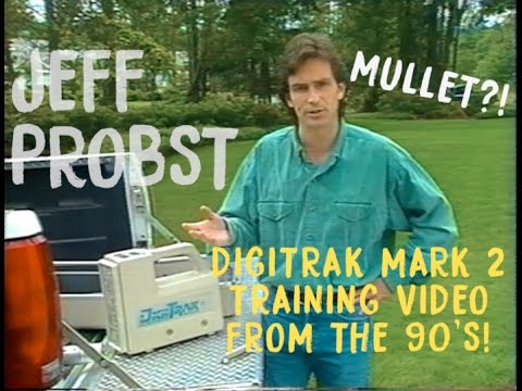 Jeff Probst 1994 DigiTrak Mark II Training