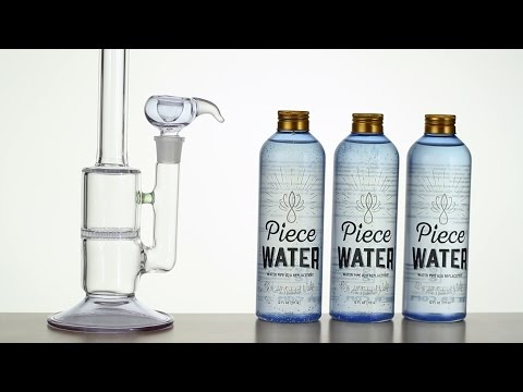 Piece Water: ALL NATURAL  BONG WATER  ALTERNATIVE