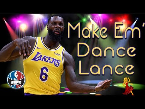 The best of Lance Stephenson's air guitar celebrations, Lakers' plays this season | NBA Highlights