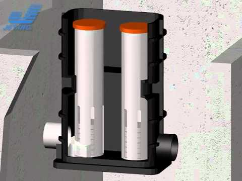 Jet 1500 Series BAT Media Residential Aerobic Wastewater Treatment Unit Process