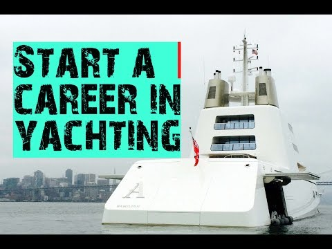 Start a career on Super-Yachts!