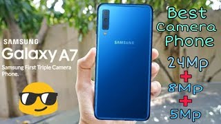 Samsung Galaxy A7 2018 Full Review   Triple Camera Phone   The Technical King