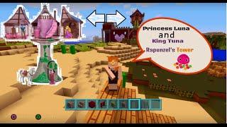 Tangled - Rapunzel - tower - Minecraft