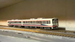 鉄コレ関東鉄道2100系新色と一般色をN化