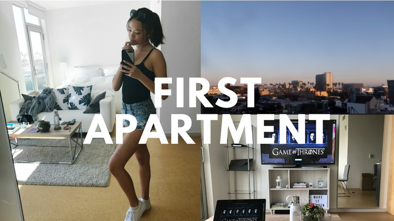 Moving Into First Apartment Vlog! Pictures Gallery