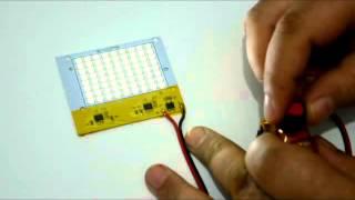 LED SMD 2835 en modulos con drivers integrados para conectar directamente a la red electrica