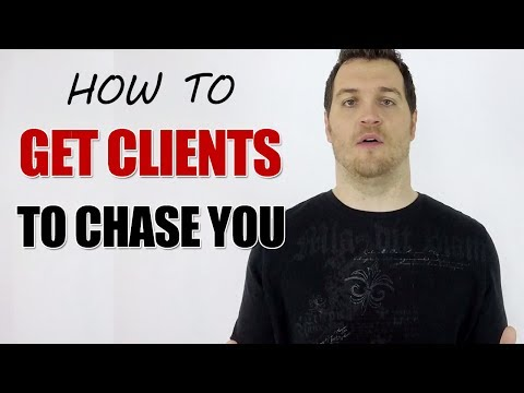 How to Stand Out and Get Clients to Chase You