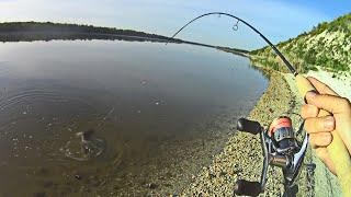 Вот это съездил НА РЫБАЛКУ с женой Отдых и ловля на спиннинг на реке Дон