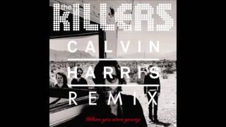 Gambar cover The killers when you were young calvin harris remix fast
