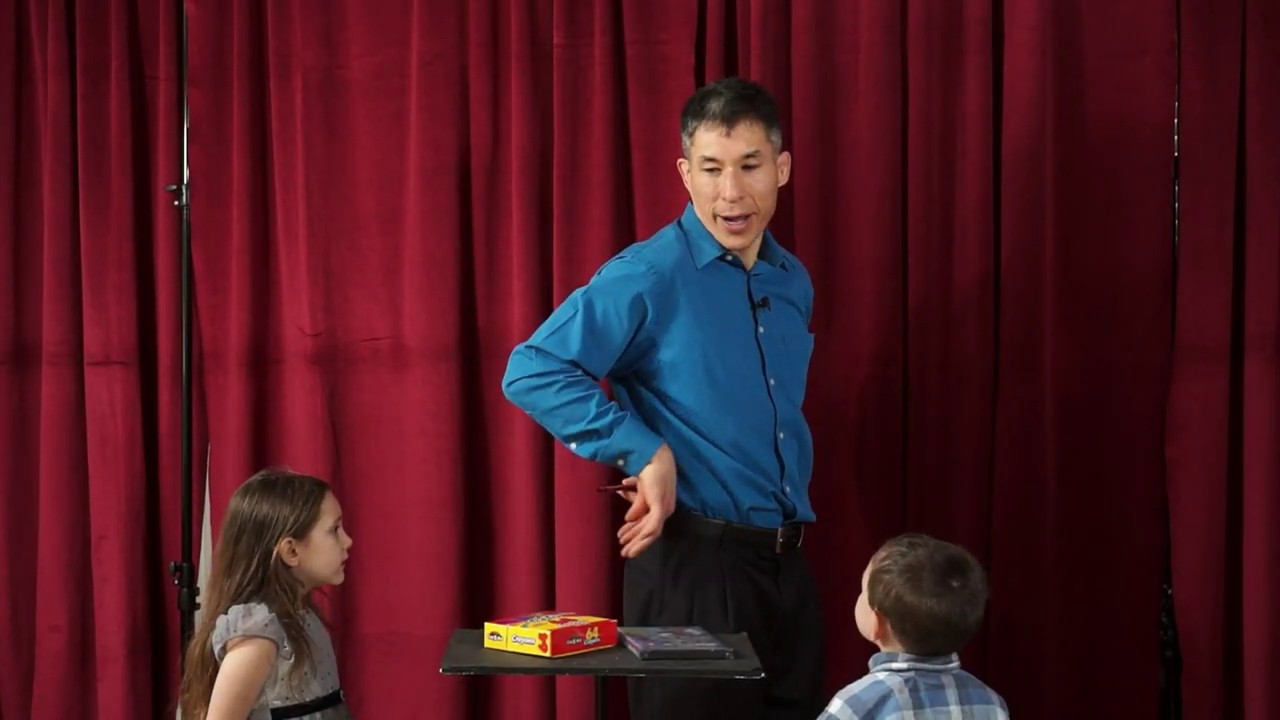 Try this at Home: Magic Tricks for Kids